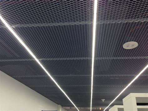 Sted Metal Ceiling Panels by Realization Of Expanded Metal Ceilings