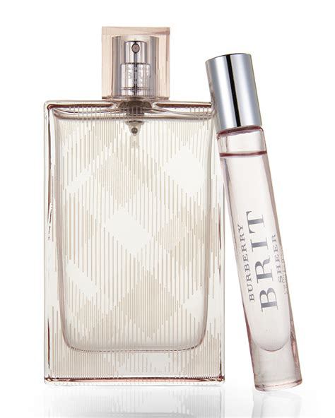 burberry brit sheer parfum burberry brit sheer for two fragrance gift set