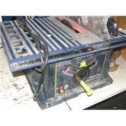 mastercraft 10 bench saw mastercraft 10 quot bench saw