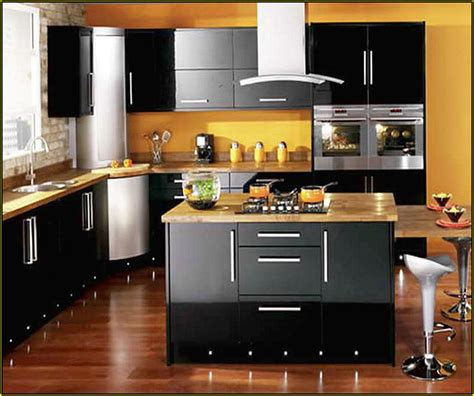 what color should i paint my kitchen with black appliances