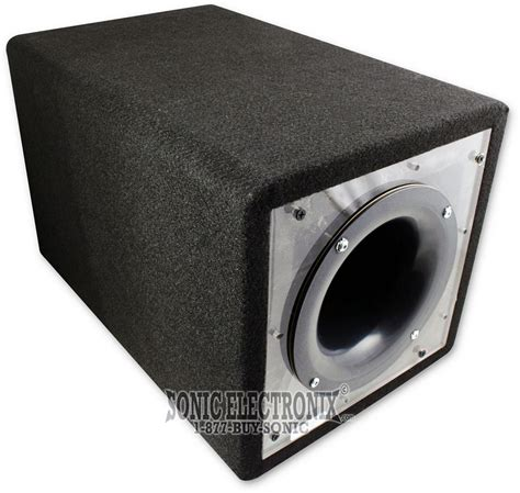 Box Speaker Subwoofer 8 Inch 8 inch single ported bandpass subwoofer box w plexi ebay