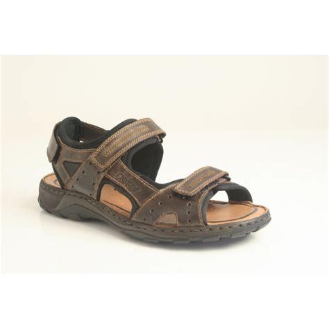 mens velcro sandals uk rieker rieker s brown sandal with three adjustable