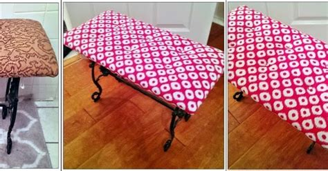 reupholster ottoman yourself do it yourself meg made creations how to