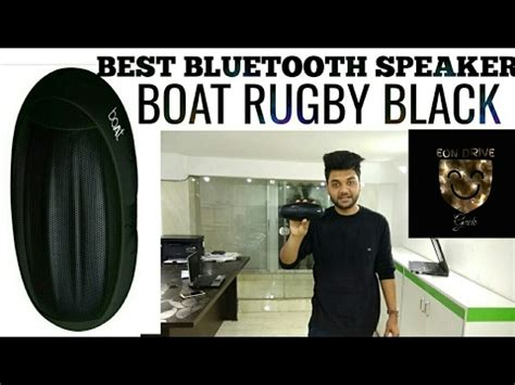 boat rugby speakers review boat rugby bluetooth speaker black 2017 youtube
