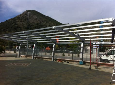 tettoia prefabbricata tettoia prefabbricata in ferro profilati alluminio