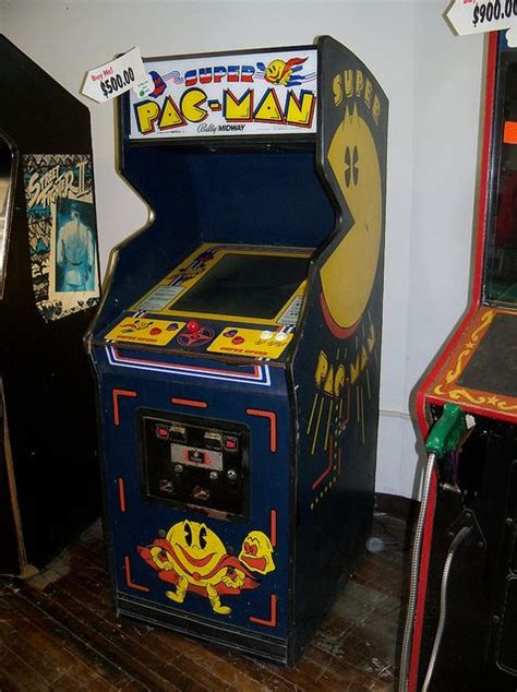 super pac man arcade cabinet 17 best images about arcade on arcade