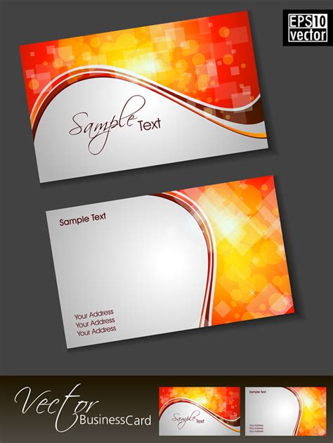 cards free business card 18 free vector graphic