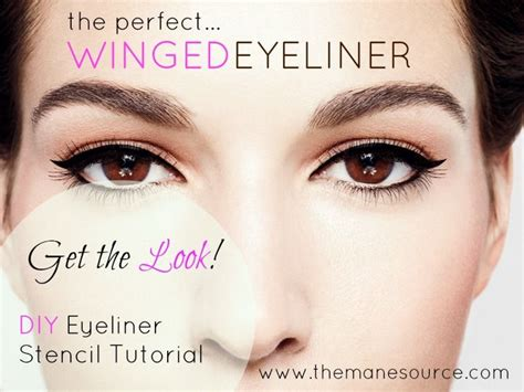 winged eyeliner template the world s catalog of ideas