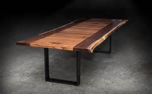 Dining Table Shapes Shapes Live Edge Dining Table Sentient Made In