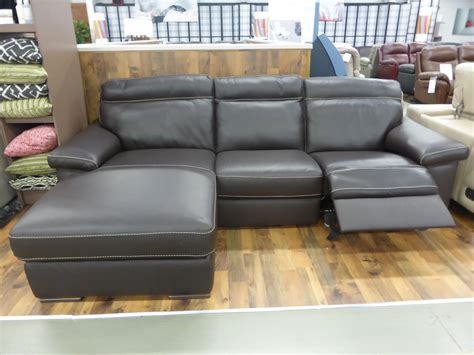 natuzzi leather reclining sofa natuzzi editions andria leather 3 seater power reclining