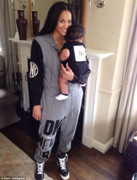 father and son matching tattoos ciara focuses on baby son as she shares sweet photo after ending engagement with fiance future