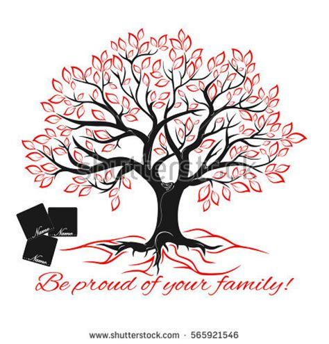 Genealogical Tree Concept Family Tree Template Stock Vector 565921546 Shutterstock Family Tree Template Vintage Vector Illustration Stock Vector 397284052