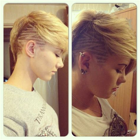 chelsuk i got my hair cut both sides are shaved now hairstyle ideas with shaved sides hair world magazine