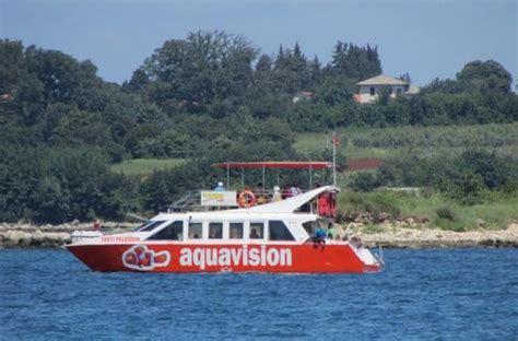 aquavision glass boat catamaran umag 232 il mare a umag forum umag tripadvisor