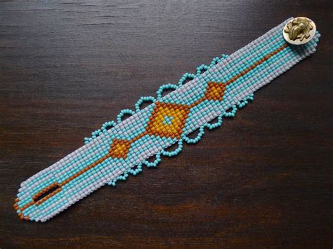 how to end a beaded loom bracelet 421 best loom and peyote images on beading