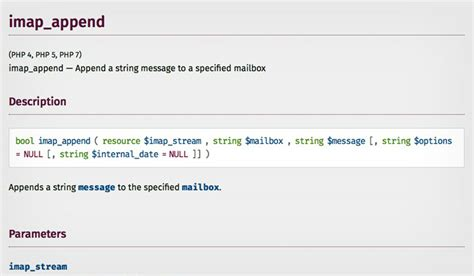 format html phpmailer notes appending phpmailer email to sent or any folder