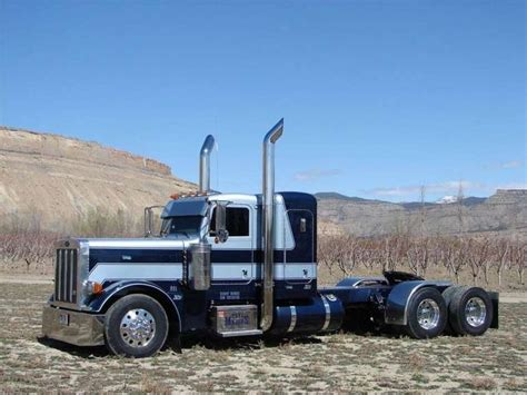 Custom Trucker Flat By Devapishop peterbilt 379 flat top peterbilt big