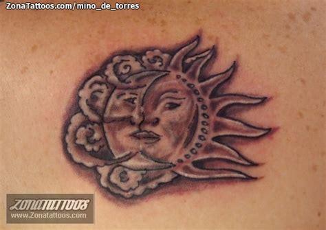 imagenes del sol y luna juntos related pictures luna la combinacion de tattoos tatuaje