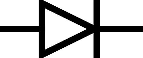 diode circuit symbols clipart iec diode symbol