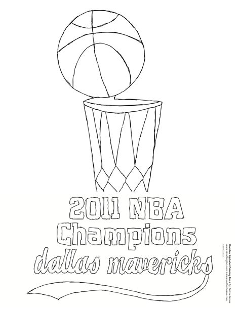 nba finals coloring pages maverick coloring pages