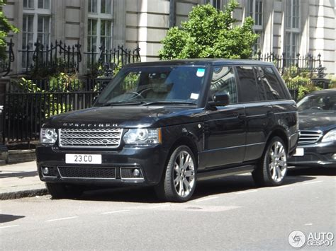 range rover autobiography 2012 land rover overfinch range rover autobiography 20 july