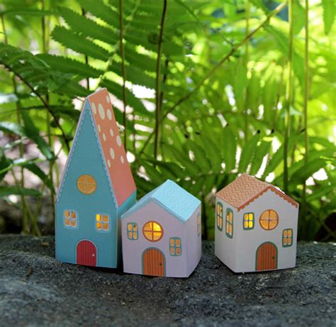 printable paper house luminaries diy paper house luminaries 187 bellissima kids bellissima kids