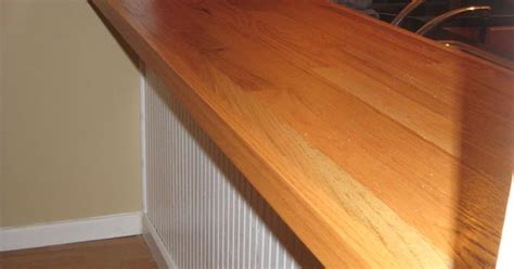 diy bar top   plywood oak hardwood flooring nail