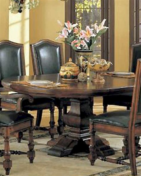 winners only ashford dining pedestal table wo da44872
