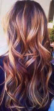 pretty fall hair colors 1000 ideas about balayage hair on