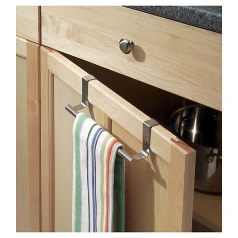 kitchen cabinet towel rack the cabinet door kitchen towel holder cabinet doors