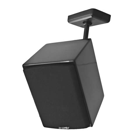 universal speaker wall  ceiling mount black