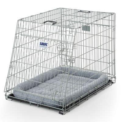 gabbia cani gabbia savic residence mobile con cuscino zooplus