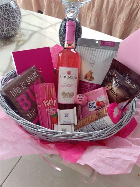 Best 25  Best friend birthday basket ideas on Pinterest