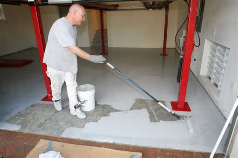 ucoat it do it yourself epoxy floor coating kit install hot rod network
