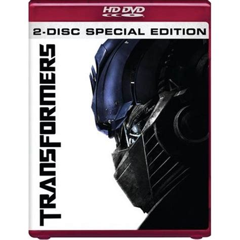 transformers hd dvd  disc special edition review