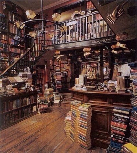 diagon alley library