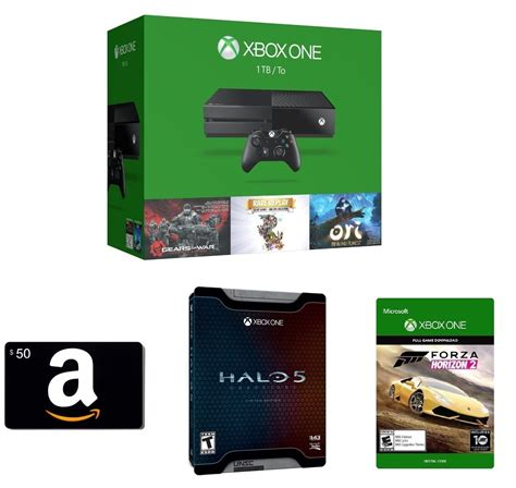 amazon xbox one deal amazon offering 50 gift card halo 5 limited