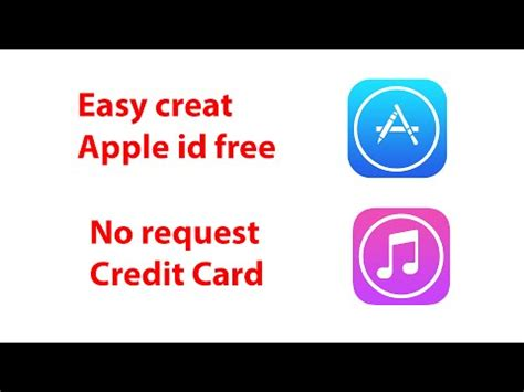 how to make apple id no credit card easy create apple id free 2015 no request