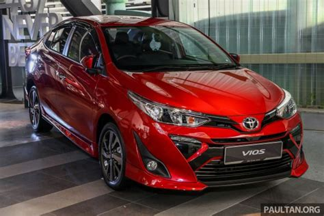 Toyota 2019 Malaysia by 2019 Toyota Vios Launched In Malaysia Rm77k Rm87k
