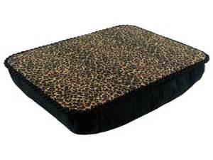 Jumbo Lap Desk Leopard Pillow Lap Desk