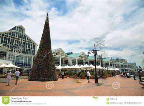victoria wharf shopping centre in cape town editorial
