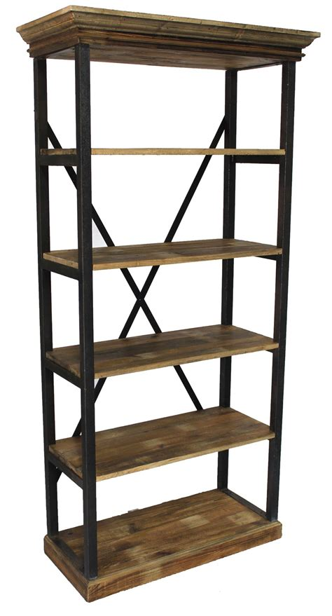 Back Shelf by Industrial Iron X Back Shelf