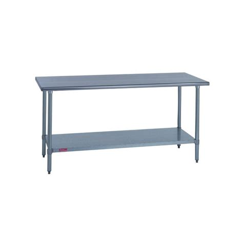30 inch x 72 inch stainless steel work table