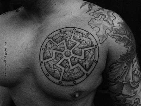 german tribal tattoo germanic tattoos