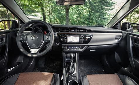 Toyota Corolla Interior Images Car And Driver