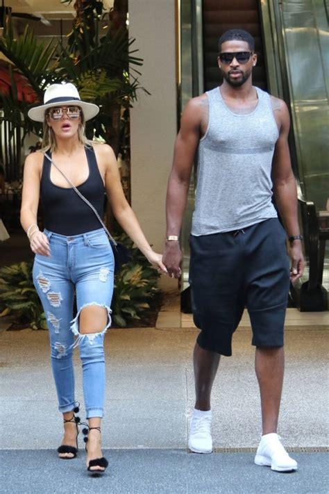 khloe kardashian amp tristan thompson caught holding hands