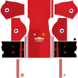Dream league soccer kits uniformes manchester united premier league