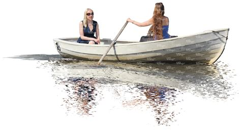 boat cut out two women rowing a boat cut out people vishopper