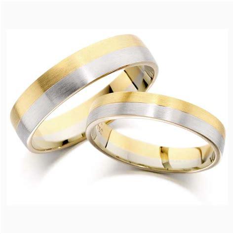 cooljoolz wedding rings two tone wedding rings