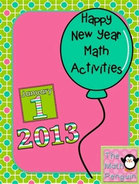 new year math lesson plans happy new year math activities math ideas